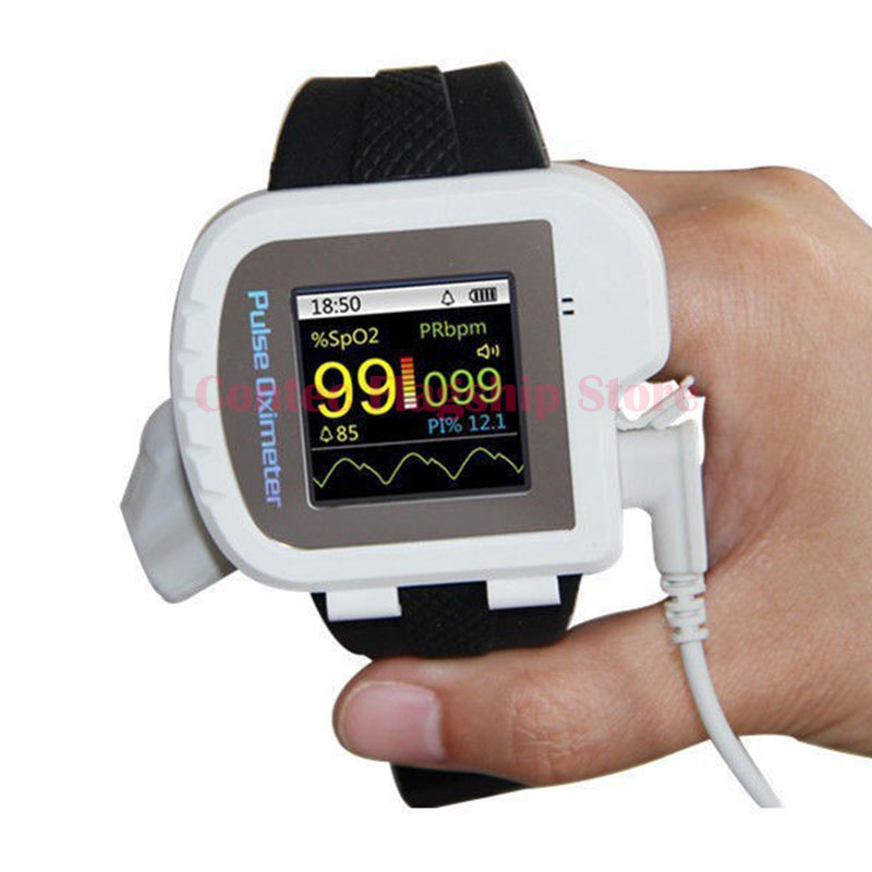 CMS50I,Digital wrist pulse oximeter,spo2 monitor,finger pulse rate,blood oxygen