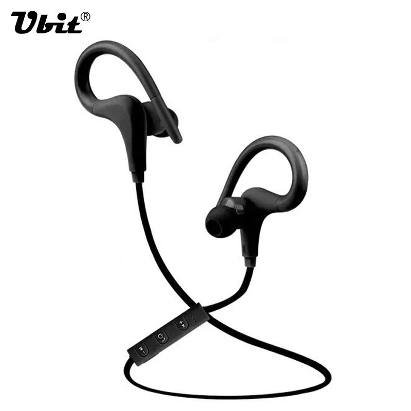 Ubit Bluetooth Wireless Earphones Kin-77 Stereo Music Sport Running In-Ear Earphone Mic Bluetooth Autodyne For iPhone Smartphone