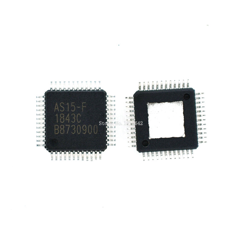 2PCS/LOT AS15-F <font><b>AS15F</b></font> <font><b>QFP48</b></font> AS15 LCD chip QFN-48 IC image