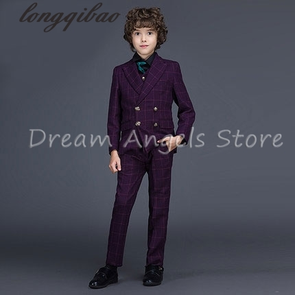 2017 new arrival fashion baby boys kids blazers boy suit for weddings prom formal spring autumn purple dress wedding boy suits high quality 2016 new arrival fashion baby boys kids blazers boy suit for weddings prom formal dark blue dress wedding boy suits