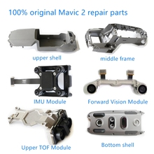 100% originale DJI Mavic 2 parti di ricambio del motore braccio superiore della copertura medio telaio dellalloggiamento inferiore IMU TOF parti di riparazione per mavic 2