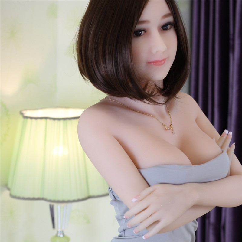 Buy Free Shipping 165cm TPE Realistic Ass Vagina Lifelike Real Love Adult Sex Toys Man Boobs Japanese Silicone Sex Dolls