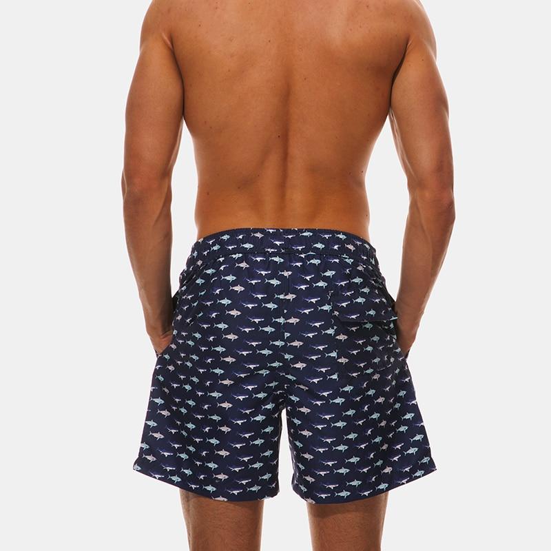 Comprar Verano Beachwear hombres junta Shorts Quick seco hombres Beach Swim  Short Sea Bermuda Surf traje de baño ropa deportiva M XXL para el hombre  Online ... a02e36a986e
