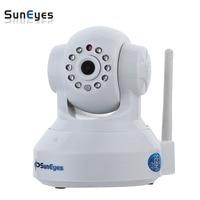SunEyes P2P Real Plug And Play IP Camera Wireless H 264 IR Cut And Free 8G