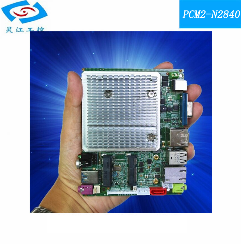 N2840 CPU MINI fanless embedded Industrial Motherboard for well tested working