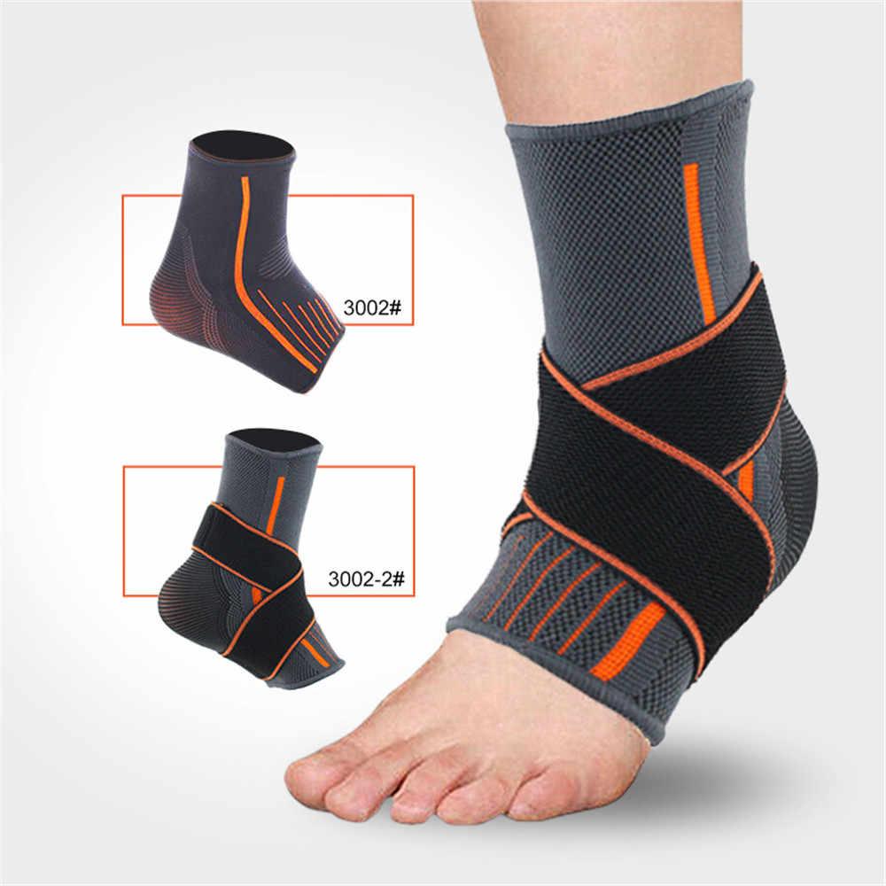 スポーツ足首保護スリーブブレース圧縮サポートスリーブ足底筋膜炎足の靴下の足首サポート #0717