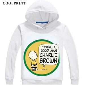 Image 2 - PEANUTS Mens Hoodies Charlie Brown Woodstock Charles Monroe Sparky Anime Sweatshirt Streetwear Custom Hoodie Costume Hooded