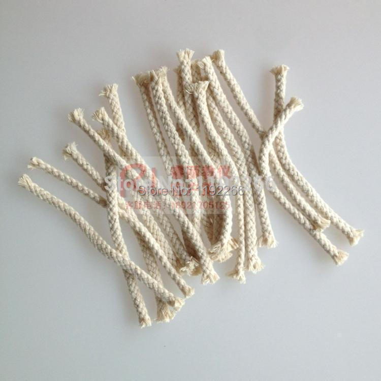 Wholesale 20pc Pure Cotton Alcohol Lamp Wick 20cm Cotton Wicks.Chemical Laboratory Supplies Free Shipping