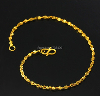 Solid 999 24K Yellow Gold / Perfect Star Bracelet 3.0g 6.7 L