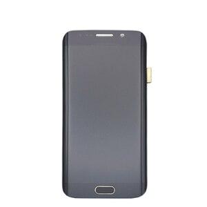 Image 4 - شاشة LCD تعمل باللمس لسامسونج غالاكسي S6 حافة G925 G925I G925F محول الأرقام مع الجمعية الإطار استبدال 100% اختبارها