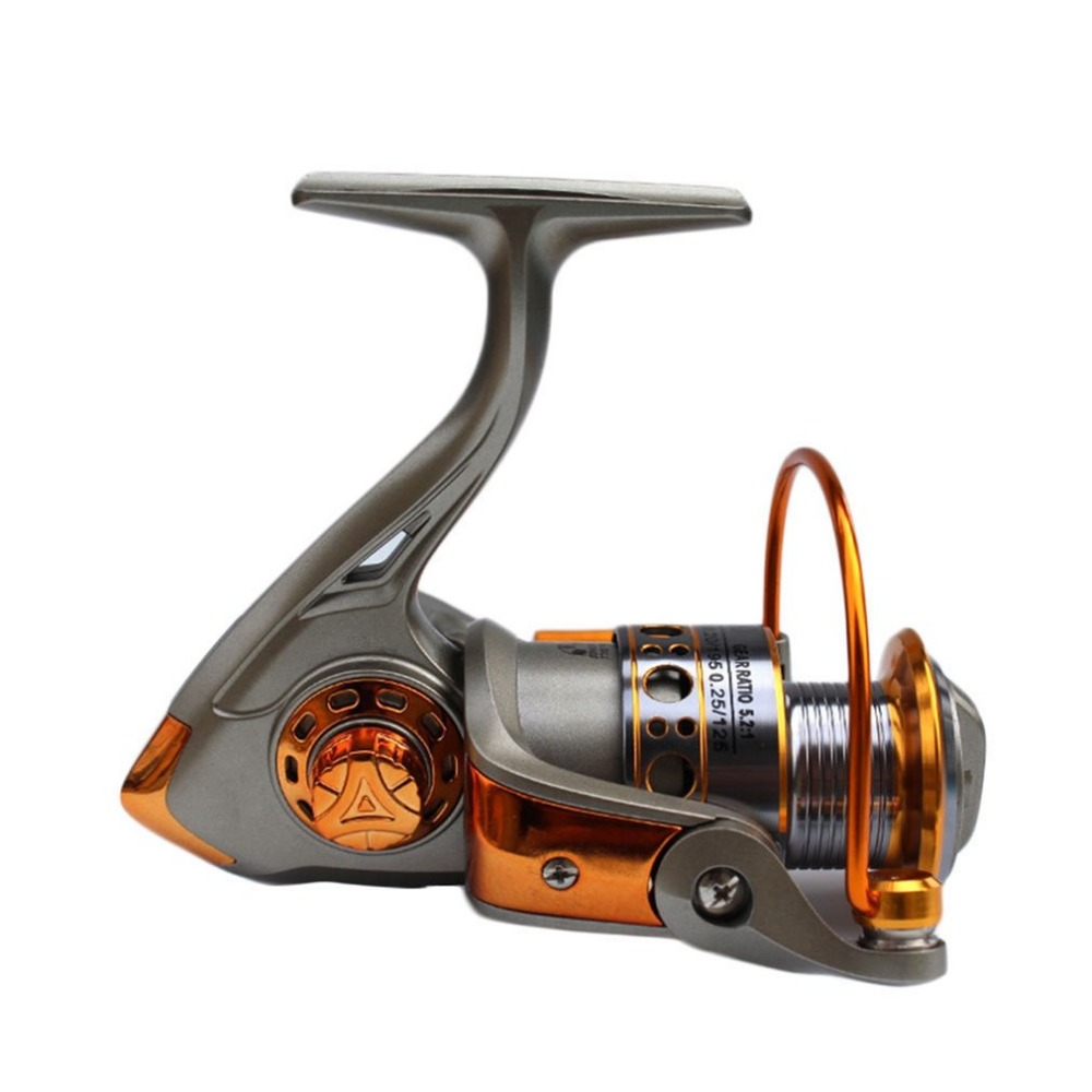 Aluminum 12BB Ball Bearing Spinning Reels Saltwater 5.2:1 Gear Ratio Boating Fishing Ree ...