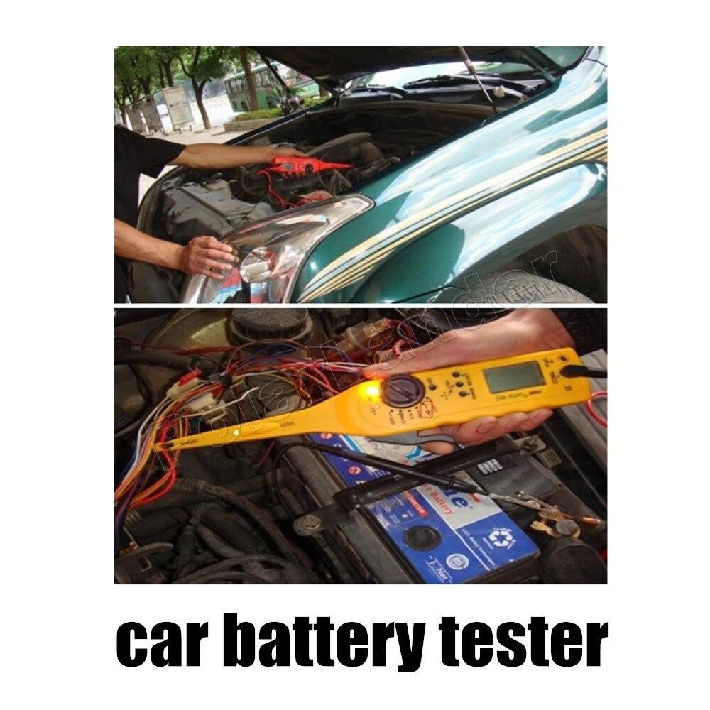 Usine prix vente multi-fonction Auto Circuit testeur automobile voiture testeur détecteur circuit date de haute qualité