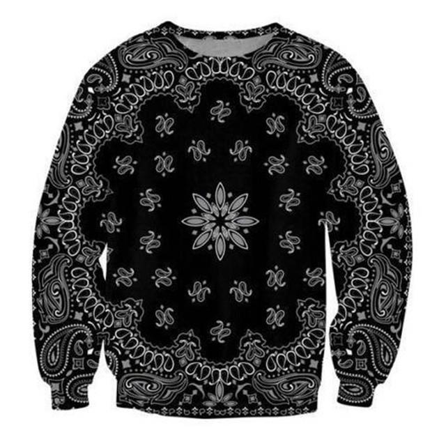 Sondirane New Fashion Mens/Womens Bandana Funny 3D Print Sweatshirt Hoodies Creative Funny Pullovers Comfortable Cheap Clothing