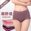 Free shipping women modal panty mid high waist plus size female underwear girls cotton briefs 100% SIZE S M L XL XXL XXXL 4XL R0