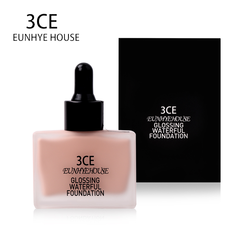 3CE EUNHYE HOUSE Brand Face Makeup Whitening Liquid Foundation Concealer Moisturizer Waterproof Face Cosmetics Hot Sale image