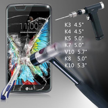 Tempered Glass Film For LG X Screen Power Screen Protector G5/K5/K8/K10/K7/K4/V10 Nexus 6P Tempered Glass Film Pelicula Spirit