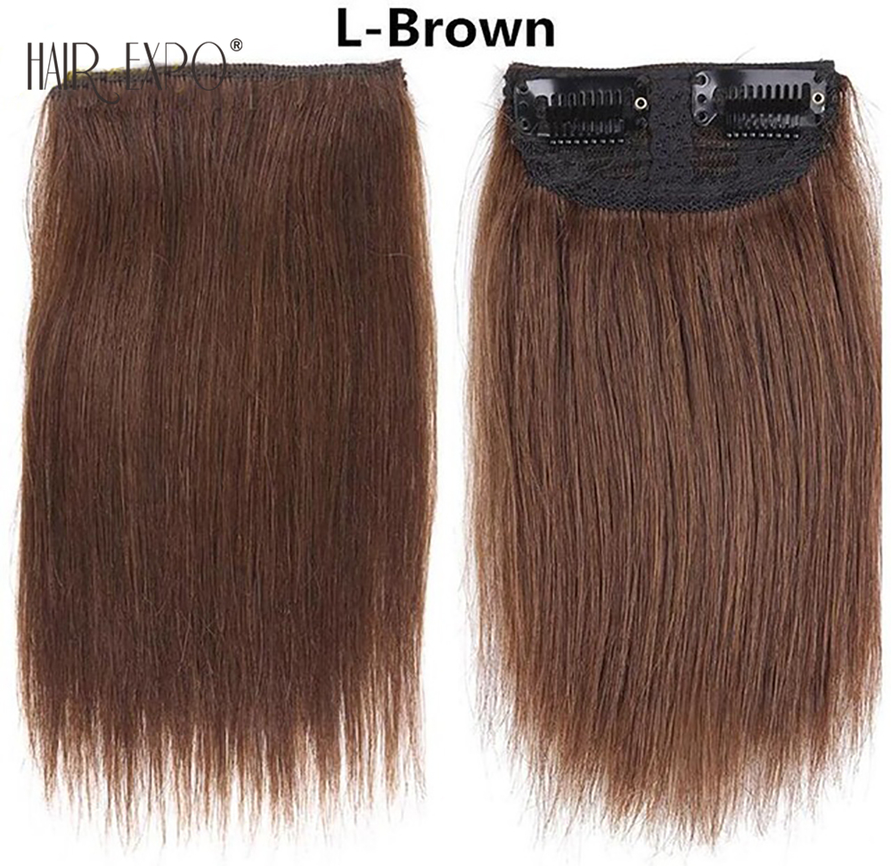 Golden-Beauty-6inch-Brown-Black-Short-straight-Clip-in-Synthetic-Hair-Extensions-One-Piece-False.jpg_640x640 (2)