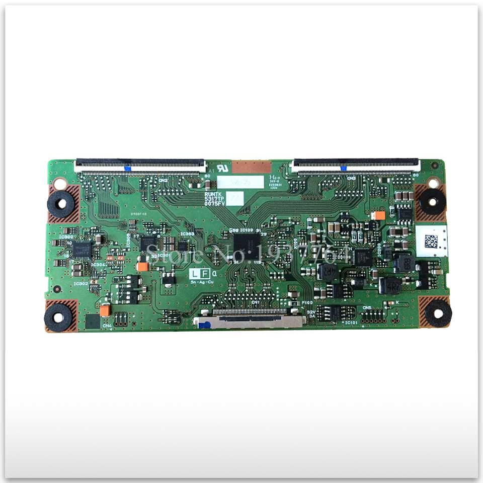95% new good working High-quality original board LD40U3200 3100 RUNTK ZZ 5317TP 0075FV T-con logic board 95% new good working high quality for original th 42pz700c tnpa4245 logic board