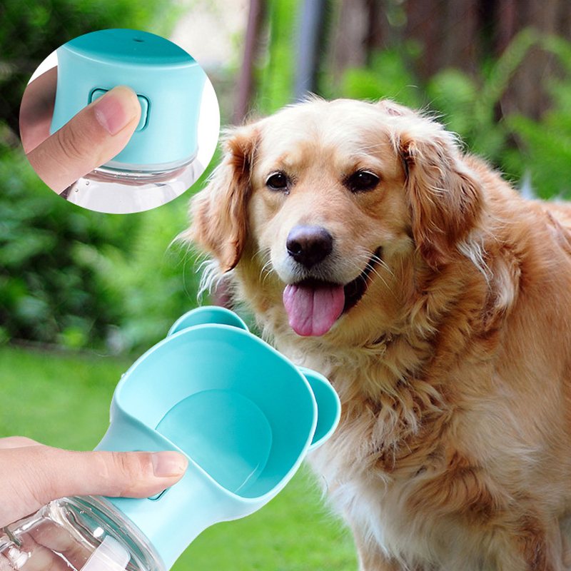 Water Rover Portable Pet Dog Drinking Bowl: Portable Pet Dog Water Bottle For Small Large Dogs Travel