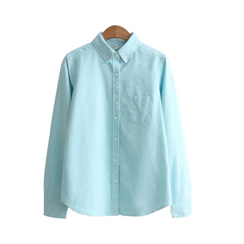 High Quality Spring Autumn Women Long Sleeve Work Shirt