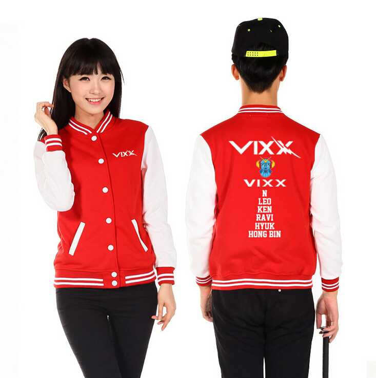 Baseball Jacket Preppy-Style Hoodie 5-Types outwear Autumn Winter Lovers Kpop Chaquetas