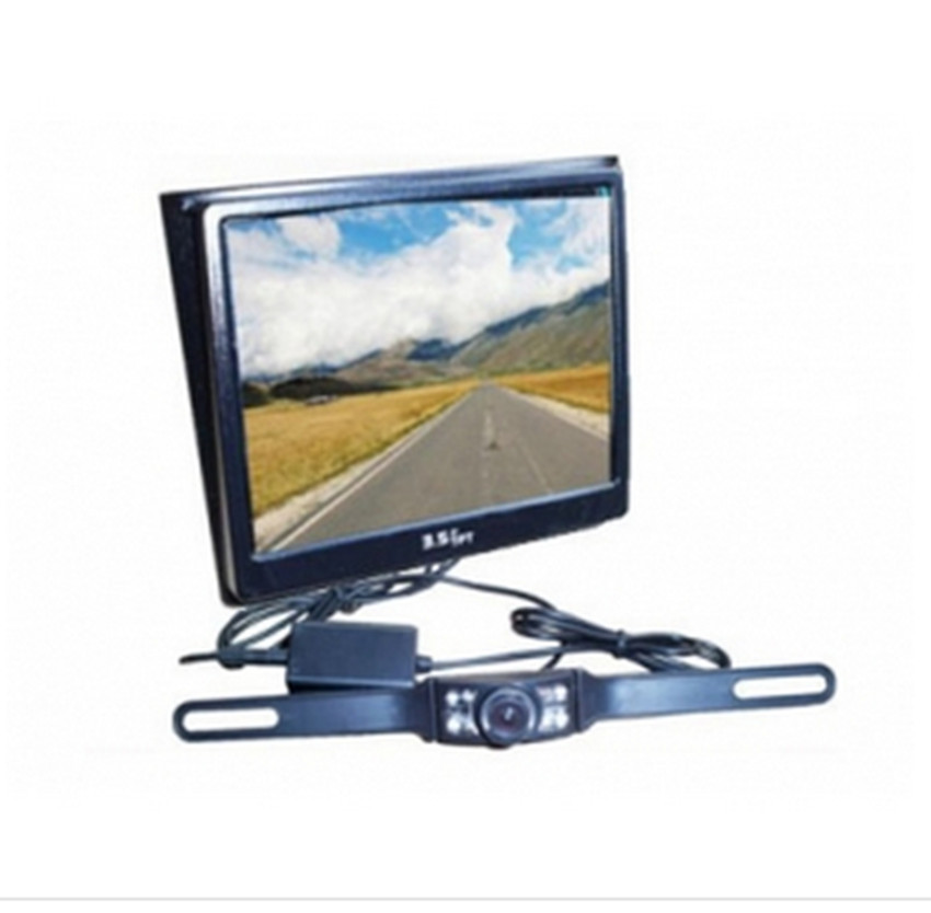 ФОТО 3.5 Inch 2.4G Wireless  Monitor For  Rearview System Reversing CCTV  Camera