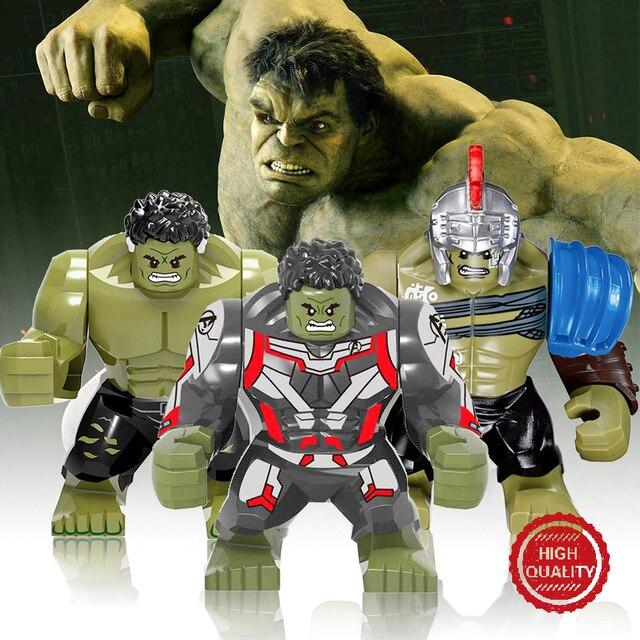 Endgame 34 PCS Legoes Vingadores Thanos Maravilha Figuras Modelo de Blocos de Construção Tijolos Spiderman Hulk Ironman Pantera Crianças brinquedos de Ação