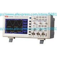UNI-T UTD2052CL 50 МГц 500 мс/с цифровой запоминающий осциллограф DSO двойной Каналы 7 дюймов ЖК-дисплей Scopemeter W/USB Интерфейс