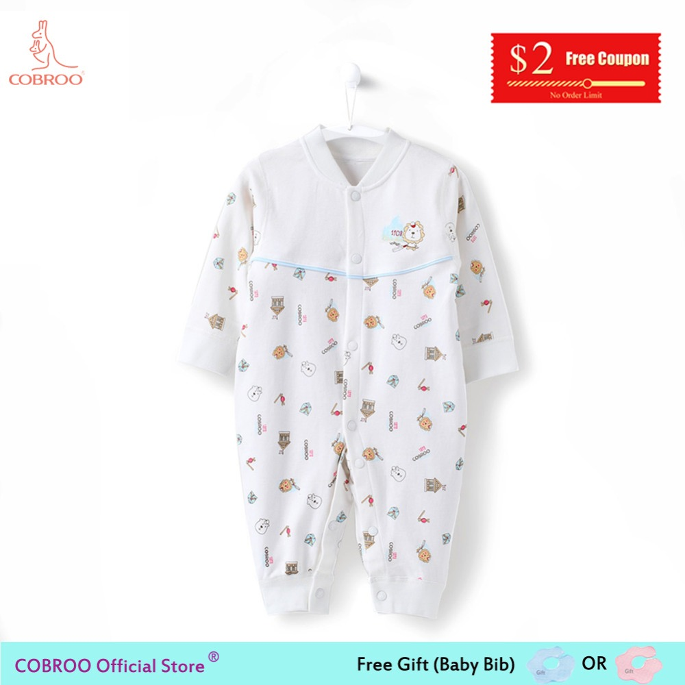 ac530bf1b 6 12 Month Newborn Baby Rompers Cotton 2018 Spring Cute Pony Animal Pattern  Twins Baby Boy Clothing Costume Jumpsuit NY150010-in Rompers from Mother &  ...