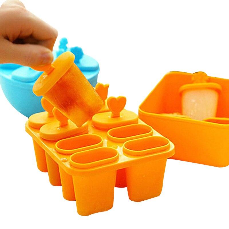 Cucina Congelato Cubo di Ghiaccio Stampi Popsicle Maker FAI DA TE Ice Cream Tools Strumenti di Cottura Per Fare Il Gelato