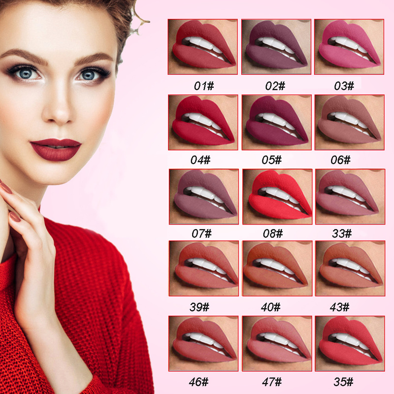 Sexy Red <font><b>Lip</b></font> <font><b>Liner</b></font> Bleistifte Wasserdicht <font><b>Lip</b></font> Bleistift Lange Anhaltende Pigmente Nude Farbe Lipliner Stift Make-Up <font><b>Lip</b></font> Bleistift TSLM1 image