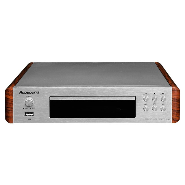 Nobsound DV-525 High Quality DVD CD USB Video player mike karaoke Signal Output Coaxial/Optics/RCA/HDMI/S-Video Outlets