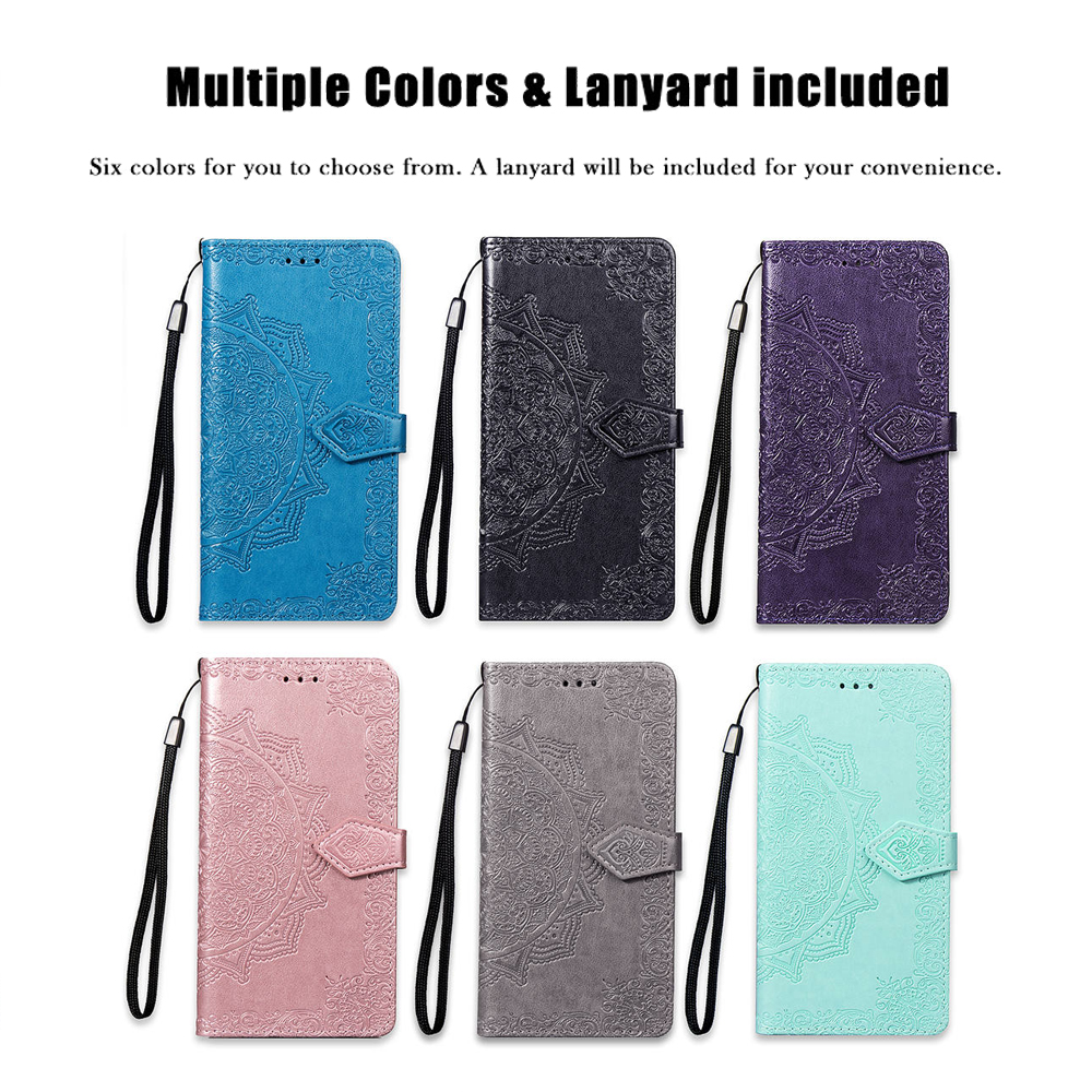 HTB1BSPrKY2pK1RjSZFsq6yNlXXa1 For iPhone 11 Pro XS Max XR Leather Phone Case Embossed Flower iPhone X XI Pro 5 5S SE 6 6S 7 8 Plus Wallet Bag Cover Flip Cases