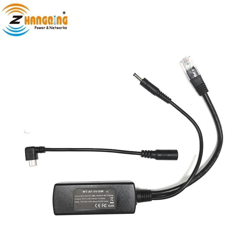 Power over Ethernet for Apple 802.3af Poe Splitter with Lightning connector