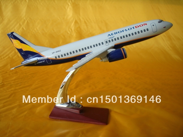 Boing 737-500  Aeroflot Russian Airlines 31CM  Resin Airplane Model Emulation