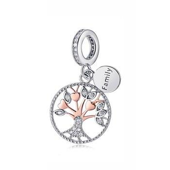 Ασημένιο charm Tree Of Life Αξεσουάρ MSOW