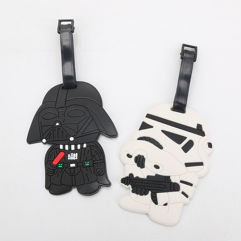 Star Wars Luggage Tags Darth Vader and stormtrooper