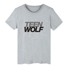 Hip hop harajuku Teen Wolf Stilinski TShirt Men Graphic fitness funny T shirts slime T-shirt men clothing tee shirt  plus size