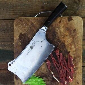 Image 3 - Fangzuo 4cr14mov Bộ Dao Nhà Bếp Thép Không Gỉ 7 Thớt Dao Nhà Bếp Gỗ Mun Tay Cầm Rau Củ Nấu Ăn Trung Quốc Dao