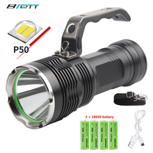 led flashlight cree xh50 xhp70 lamp usb charging Outdoor Hunting Camping Dventure Self Defense essential flash light