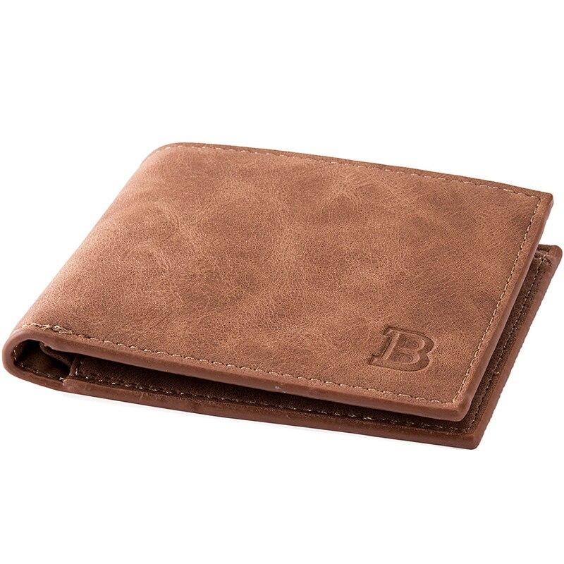 New Men Wallets Small Money Purses Wallets New Design Dollar Price Top Men Thin Wallet With Coin Bag Zipper Wallet L027 4