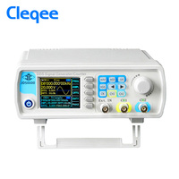 Cleqee JDS6600 25M New Dual Channel Function Arbitrary Waveform Signal Generator Pulse Signal Source Frequency Meter