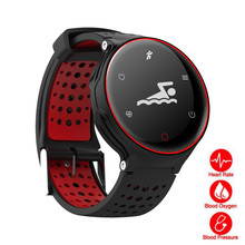 FanMao IP68 Deep Waterproof Swim Smart Watch Heart Rate Blood Pressure Oxygen Monitoring Fitness Sports Watches for Android IOS