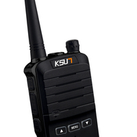מכשיר הקשר KSUN X-30 כף יד מכשיר הקשר 8W צריכת חשמל גבוהה UHF כף יד שני הדרך Ham Radio Communicator HF משדר חובב Handy (4)