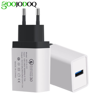 For xiaomi charger 3.0 USB Charger Dual USB Power Adapter for Mobile Phone EU Charger Adapter for Samsung huawei iPhone Charger
