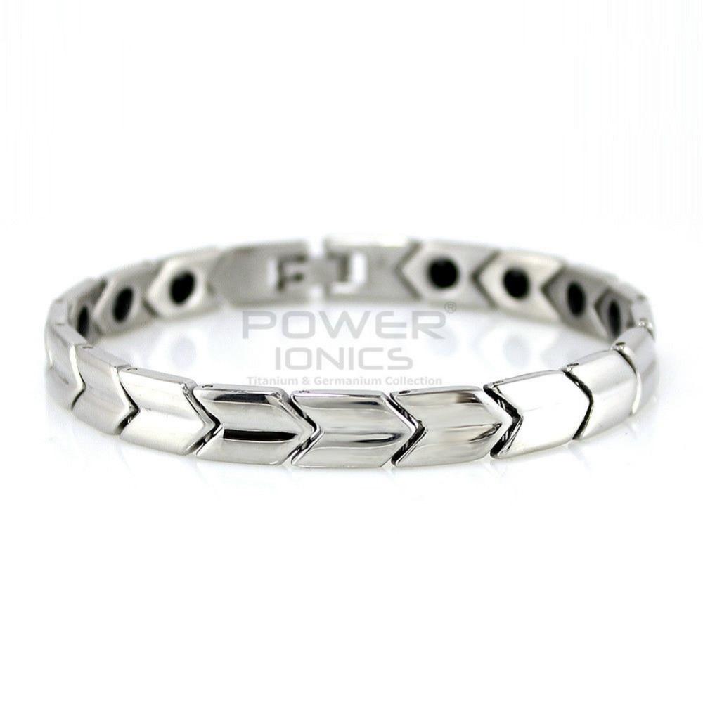 Power Ionics Titanium Germanium Magnetic Bracelet Balance Body PT005