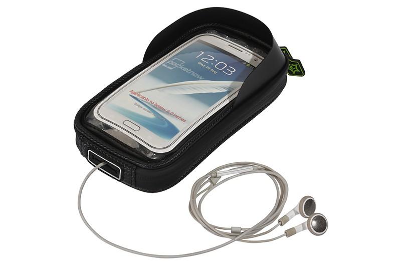 Rockbros mtb rama roweru przodu torba głowy górna rura podwójna IPouch Dotykowy Kolarstwo Pannier Dla 5.8/6 cal Smartfon Dotykowy ekran 13