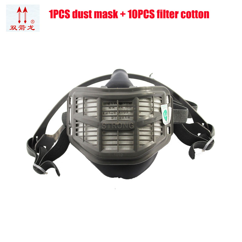 new rubber gas mask painting organic poison gas into account dust mask fire escape breathing methane gas fill valve free shiping xhzlc60 fire escape smoking chemical protection mask