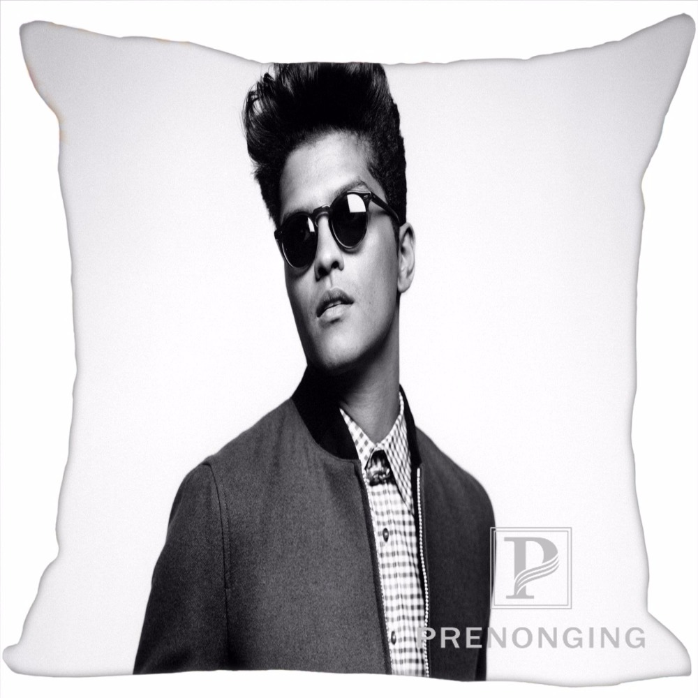 Custom Pillowcase Cover Bruno Mar Square Zipper Pillow Cover Print Your Pictures 20x20cm,35x35cm(one side) 180117#20