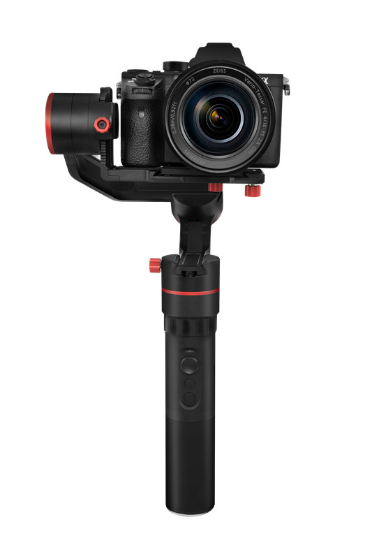 FeiyuTech Feiyu A1000 3-Axis Stabilizer Handheld Gimbal for Micro-SLR A6500 A6300 DSLR 1kg for GoPro Hero 5 yuneec q500 typhoon quadcopter handheld cgo steadygrip gimbal black